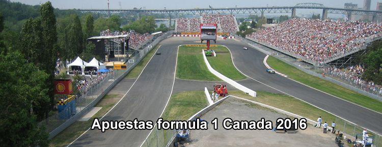 Apuestas formula 1 Canada 2016