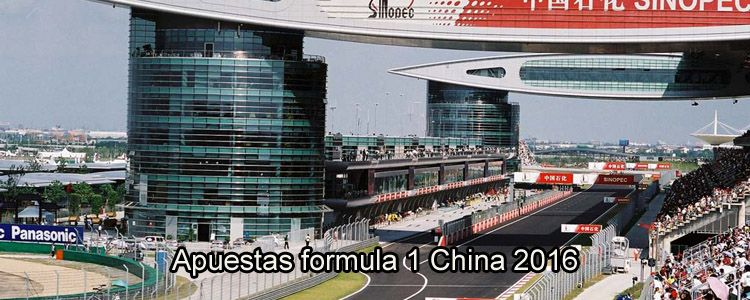 Apuestas formula 1 China 2016