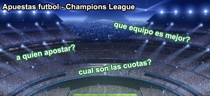 Apuestas futbol - Champions League