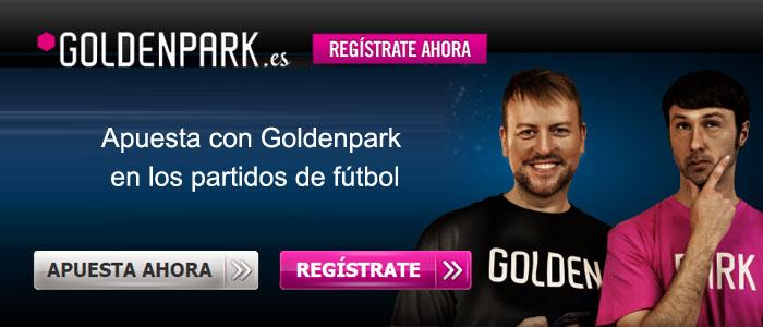 Apuesta con Goldenpark en los partidos de fútbol