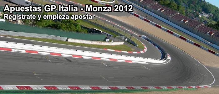Apuestas GP Italia - Monza 2012