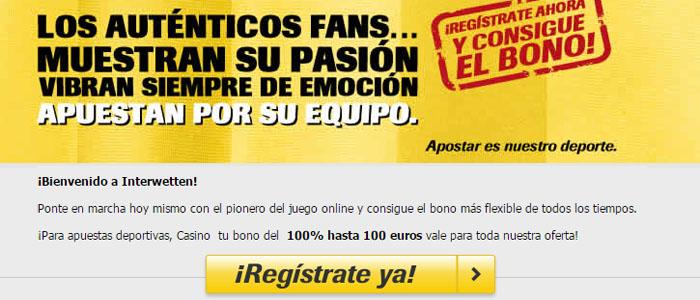 Apuesta con Interwetten en el partido Espanyol - Atlético Madrid