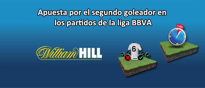 Apuesta con William Hill en los partidos de la liga BBVA