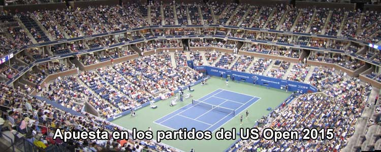 Apuesta con Bet365 en los partidos del US Open 2015
