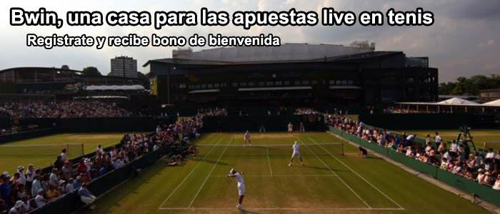 Bwin, una casa para las apuestas live en tenis