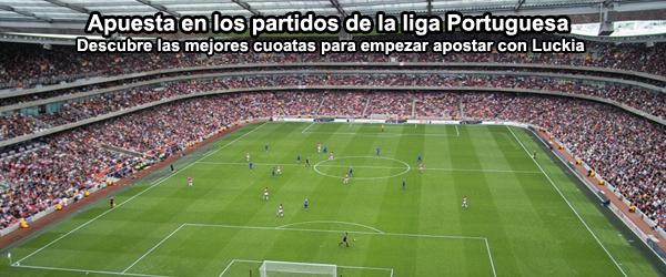Apuesta con Luckia en los partidos de la liga Portuguesa