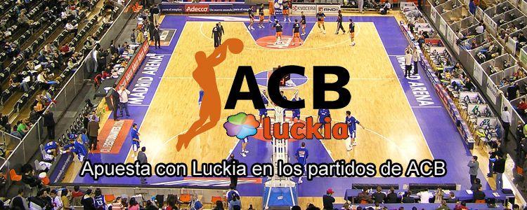Apuesta con Luckia en los partidos de ACB