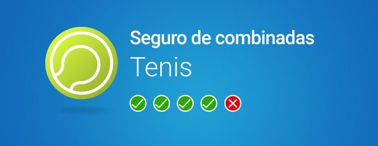 Luckia ofrece un nuevo seguro de combinadas de tenis