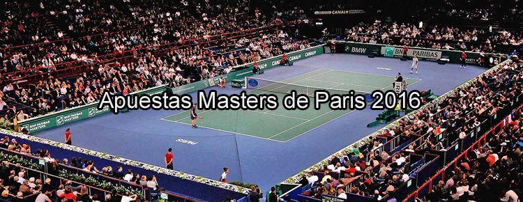 Apuestas Masters de Paris 2016