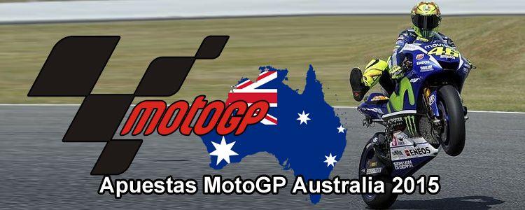 Apuestas MotoGP Australia 2015