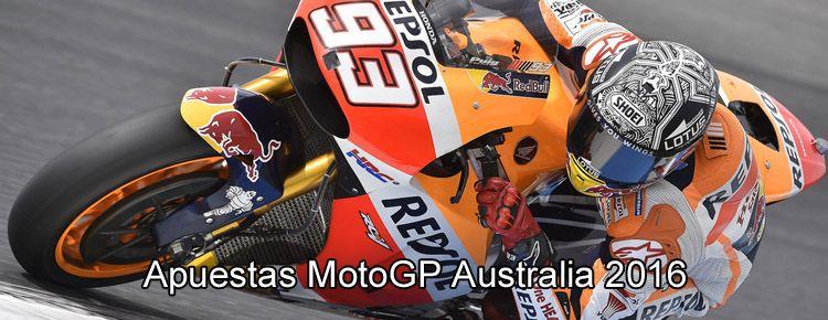 Apuestas MotoGP Australia 2016