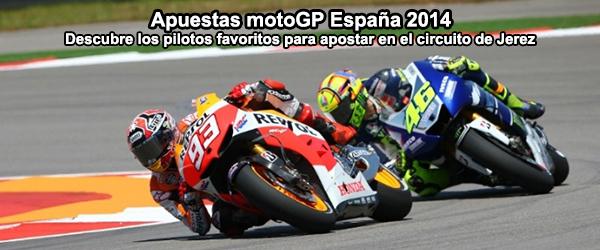 Apuestas motoGP España 2014