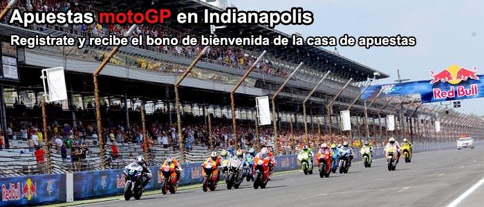 Apuestas motoGP en Indianapolis