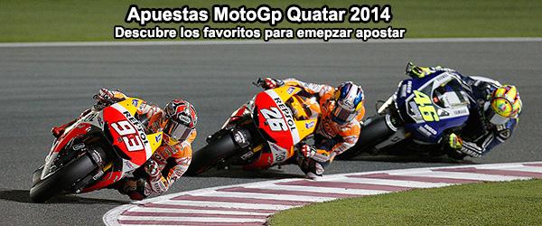 Apuestas MotoGp Quatar 2014