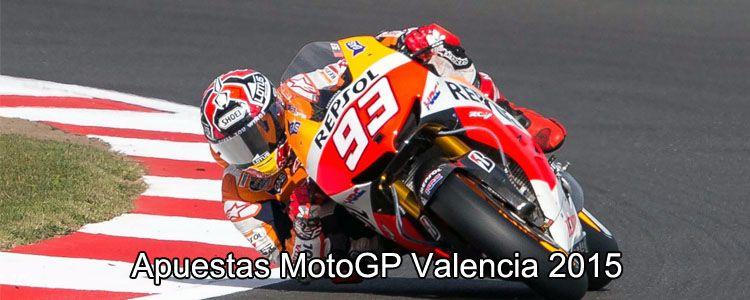 Apuestas MotoGP Valencia 2015