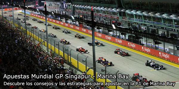 Apuestas Mundial GP Singapur - Marina Bay