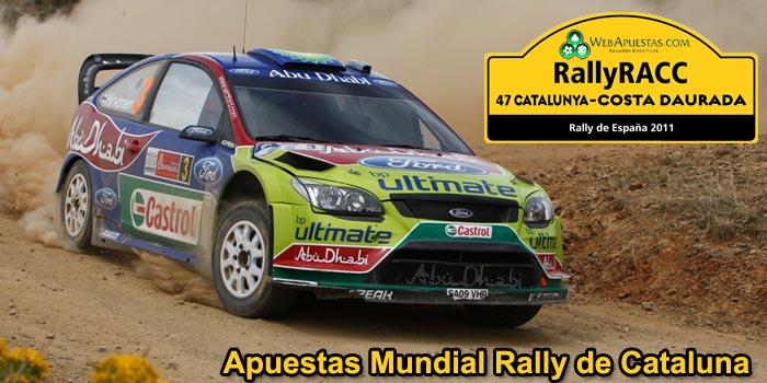 Apuestas Mundial Rally de Cataluna