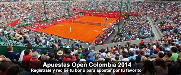 Apuestas Open Colombia 2014