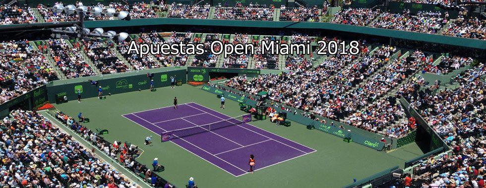 Apuestas Open Miami 2018