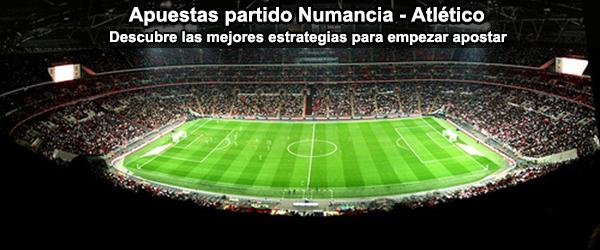 Apuestas partido Numancia - Atlético