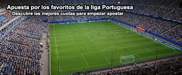 Apuesta por los favoritos de la liga Portuguesa