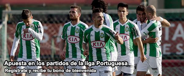 Apuesta en los partidos de la liga Portuguesa