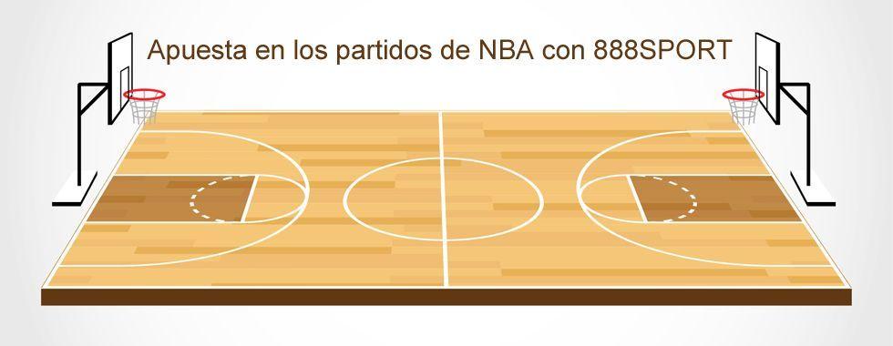 Apuesta en los partidos de la NBA con 888sport