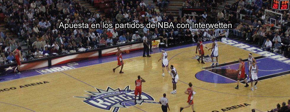Apuesta en los partidos de la NBA con Interwetten