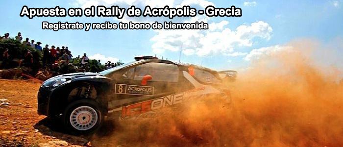 Apuestas Rallye de Acrópolis - Grecia