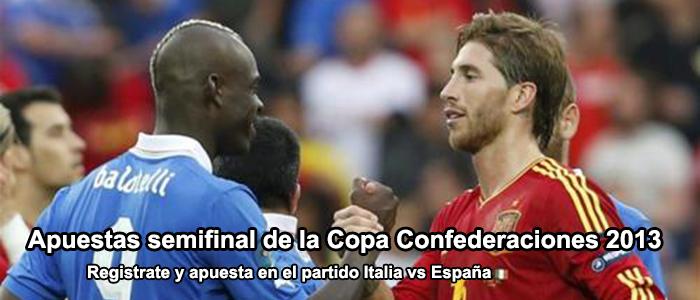 Semifinal Copa Confederaciones 2013: España - Italia