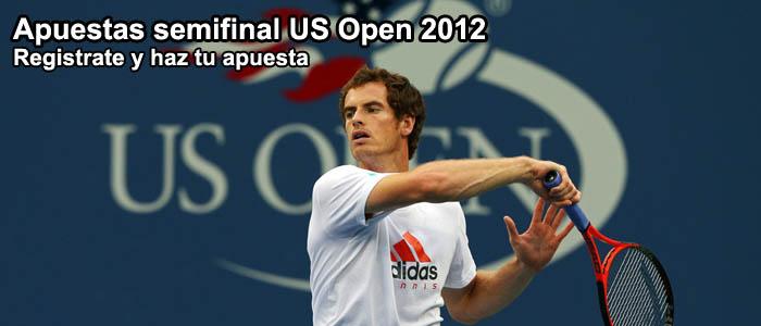 Apuestas semifinal US Open 2012