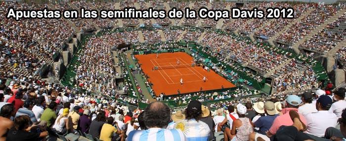 Apuestas Semifinales Copa Davis 2012