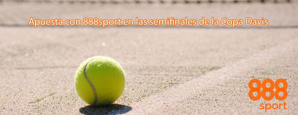 Apuesta con 888sport en las semifinales de la Copa Davis