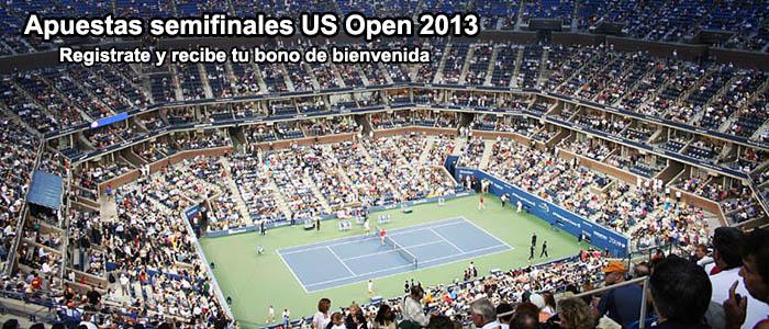 Apuestas semifinales US Open 2013