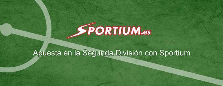 Apuesta en la Segunda División con Sportium