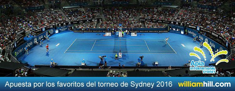 Favoritos torneo de tenis Sydney 2016