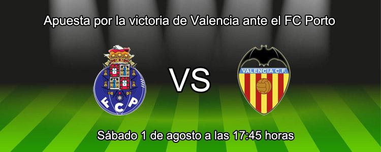 Apuesta por la victoria de Valencia ante el FC Porto