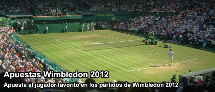 Apuestas Wimbledon 2012