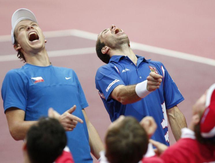 Apuestas Tenis Final Copa Davis: Entrevista a Berdych y Stepanek
