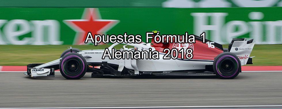 Apuestas Fórmula 1 Alemania 2018