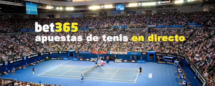 Apuestas de tenis en directo con Bet365