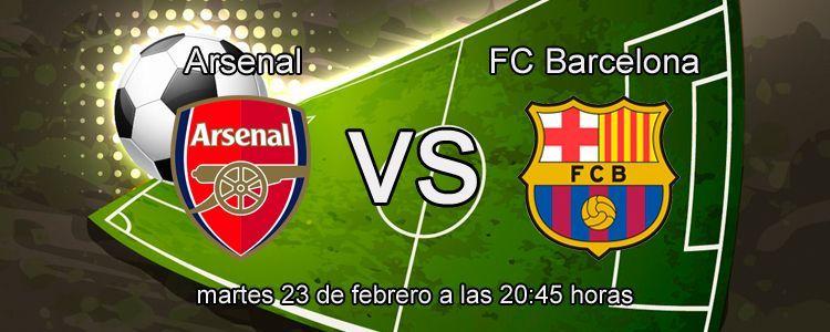 Apuesta con Titanbet en el partido Arsenal - Barcelona