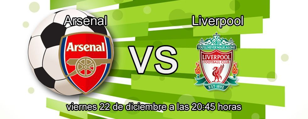 Arsenal favorito ante el Liverpool