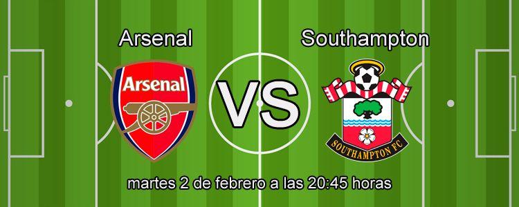 Previa partido Arsenal - Southampton