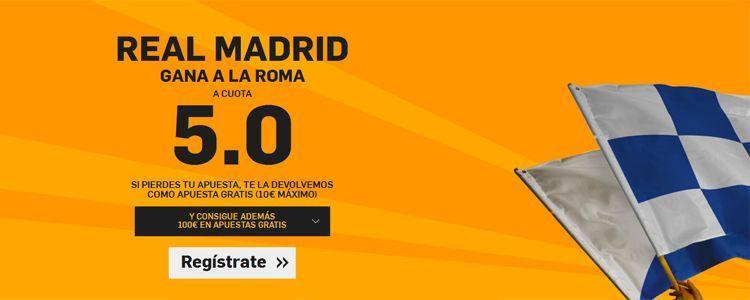 Real Madrid se enfrenta a Roma en Champions League