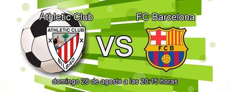 Apuesta con Bet365 en el partido Athletic Club - FC Barcelona