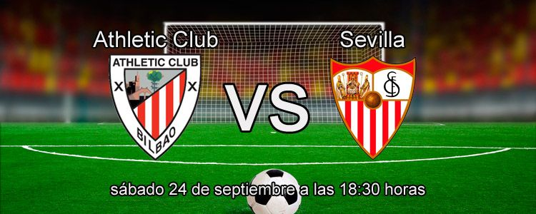 Athletic Club se enfrenta contra Sevilla el la Liga
