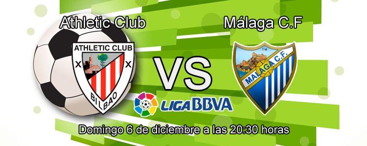 Consejos para apostar en el partido Athletic Bilbao - Málaga