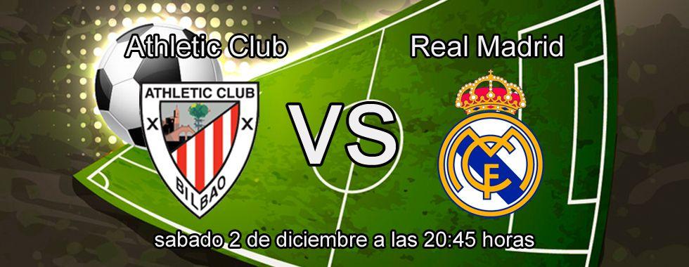 Consejos para apostar en el partido Athletic - Real Madrid