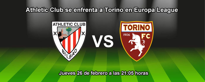 Athletic Club se enfrenta a Torino en Europa League